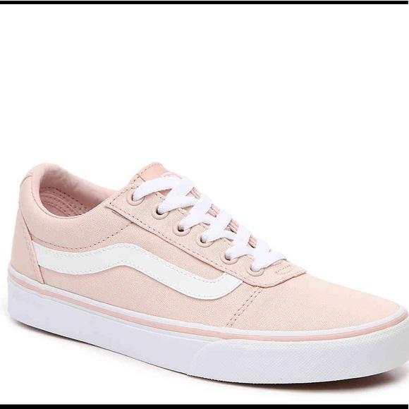 Vans Shoes | Blush Ward Lo Sneaker